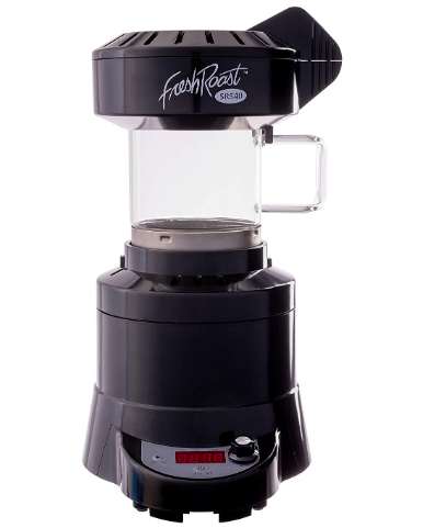 Coffee roaster on a white background