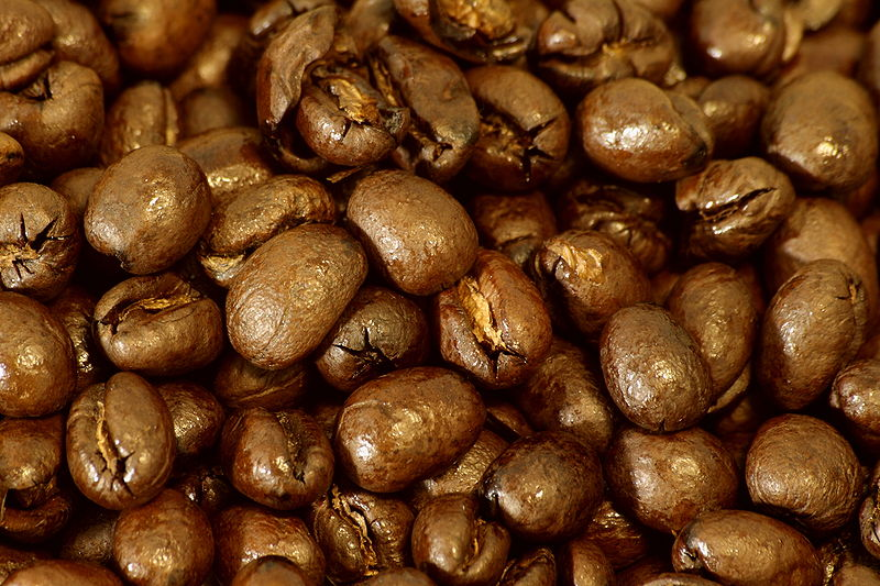 Roasted Peaberry Coffee Beans