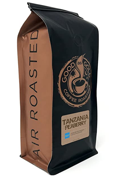 Peaberry Coffee Roasted from Tanzania