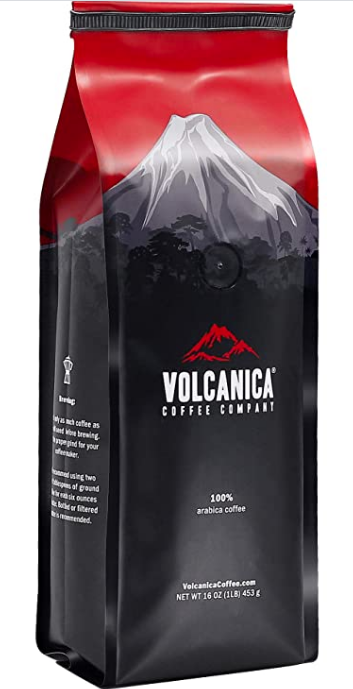 Tanzania Peaberry Coffee Volcanica